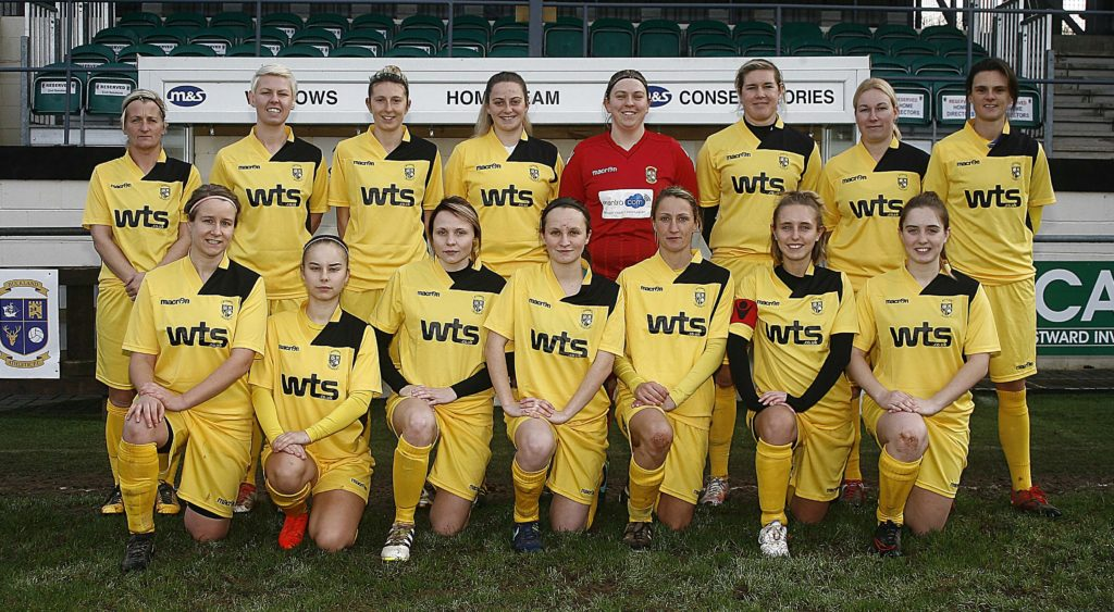 buckland athletic ladies