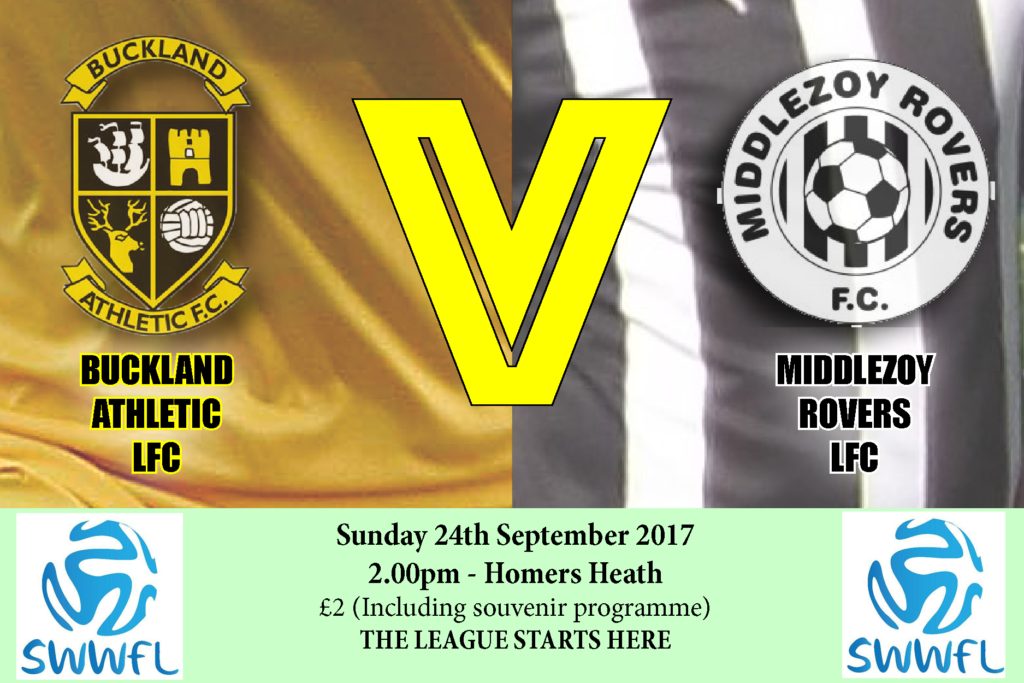 buckland athletic lfc v middlezoy rovers lfc swift premier