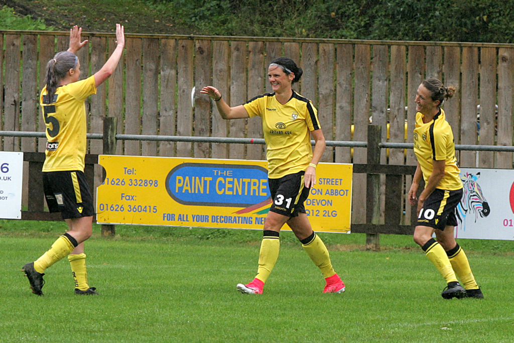 buckland athletic lfc v exeter city lfc
