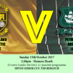 buckland athletic lfc v plymouth argyle lfc