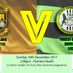 buckland athletic lfc v forest green rovers lfc