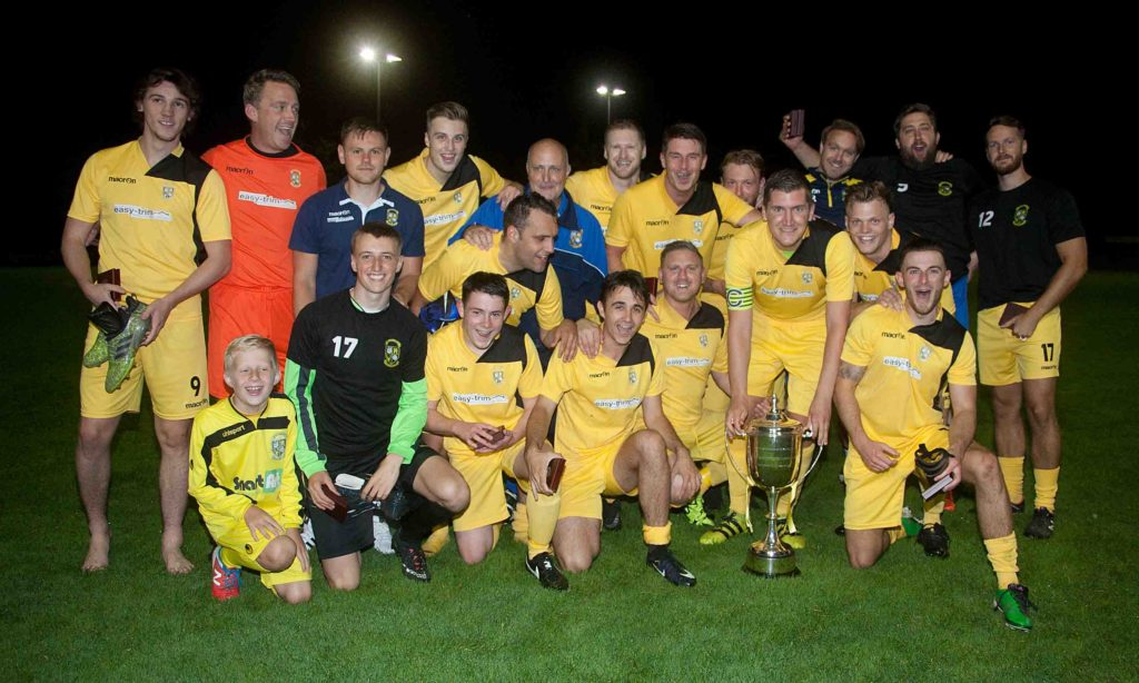 buckland athletic reserves throgmorton champions cup