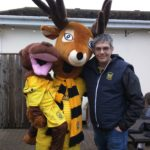 barry the buck gilbert the gull buckland athletic