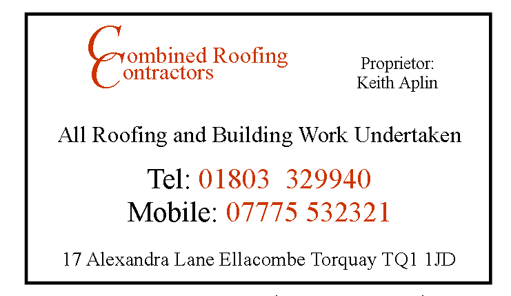combined roofing contractors